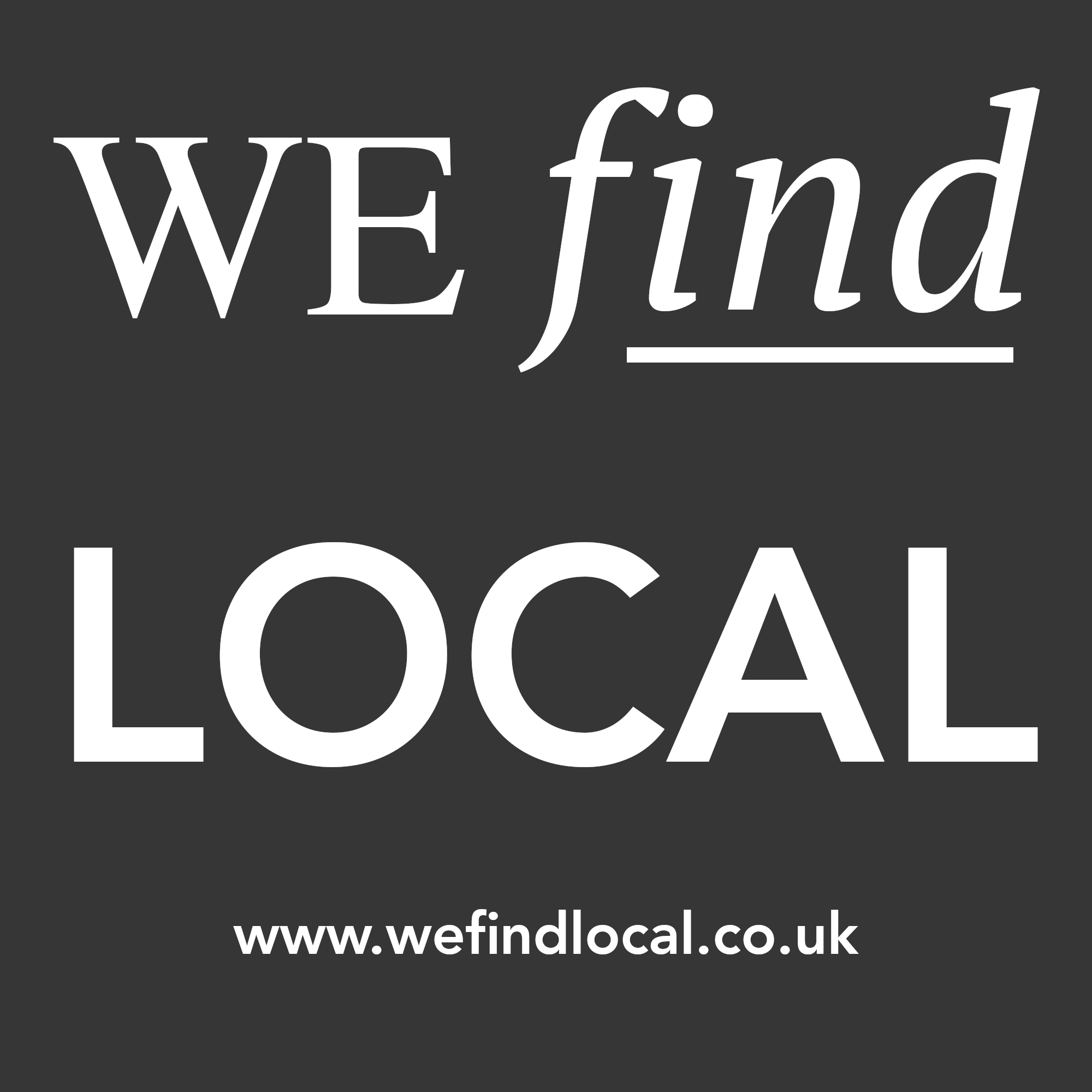 WeFindLocal logo