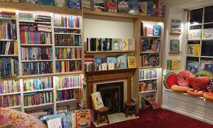 Snug Bookshop Olney interior