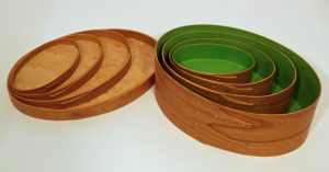 Keith Sharrock - Set of 3 with painted interiors